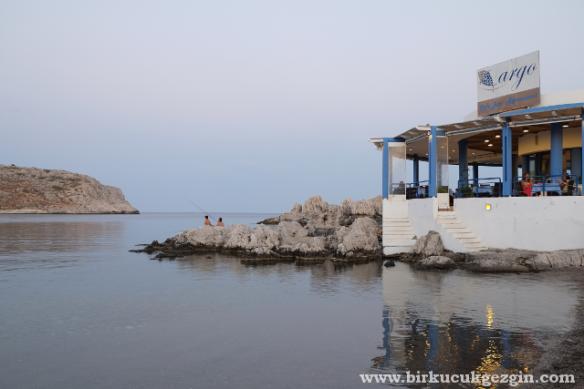 Argo Restoran, Haraki, Rodos