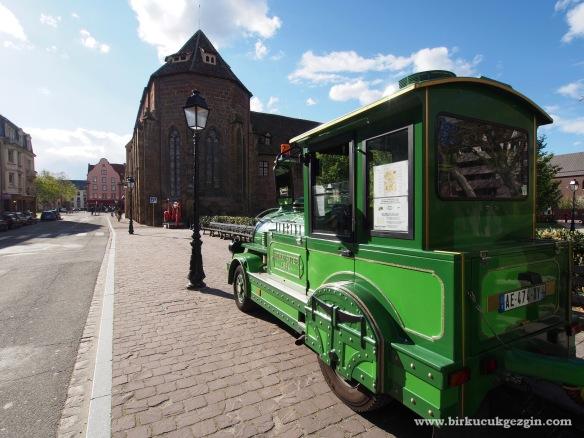 mini tren Colmar